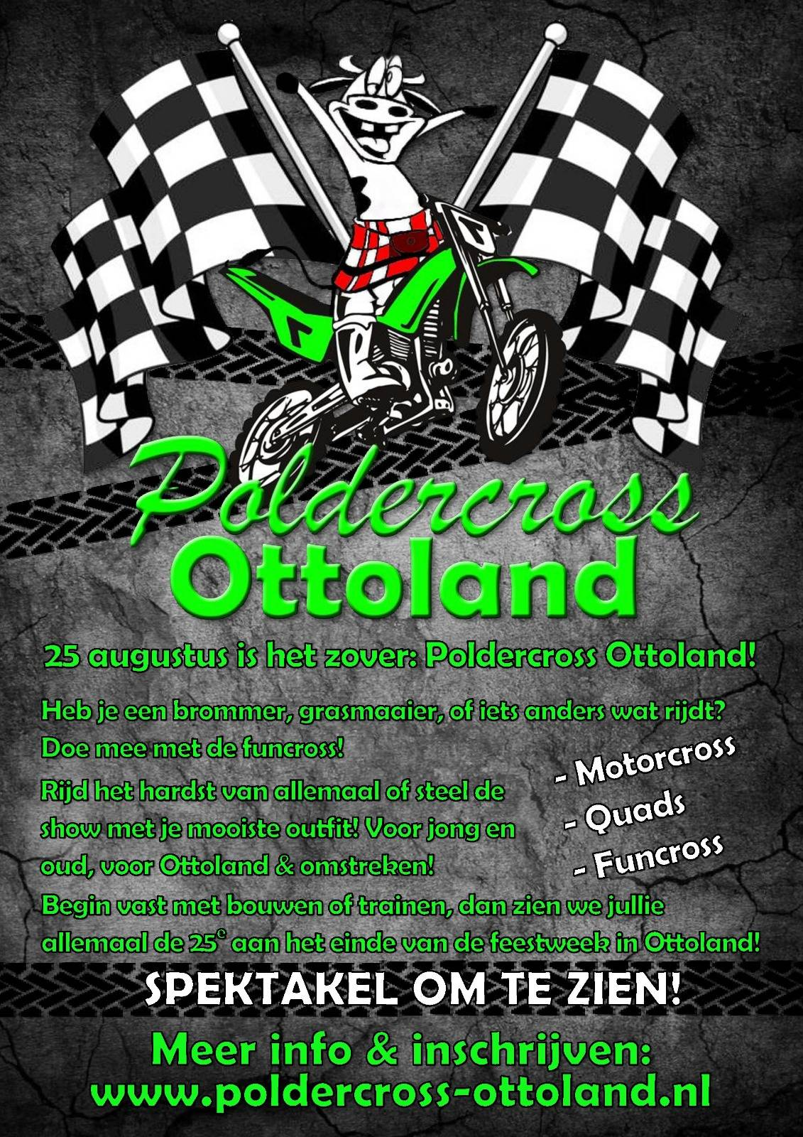 Flyer - Poldercross Ottoland 25 aug 2018